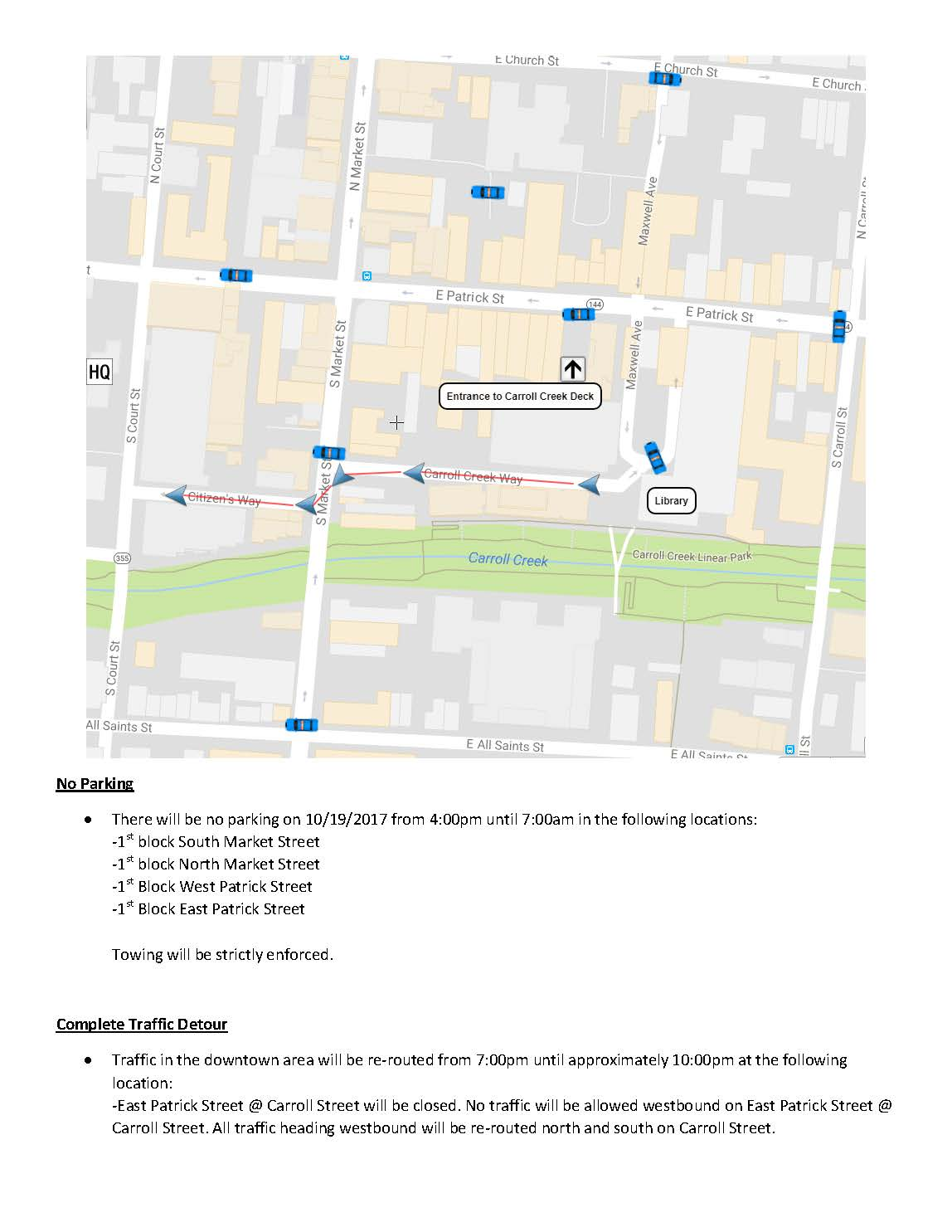 Map of Traffic Control for Oct 19 20 filming Maryland Lottery_Page_1