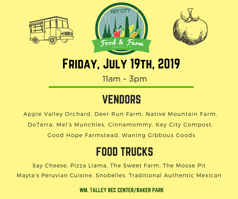 Key City Food and Farm Market 2019 7-19